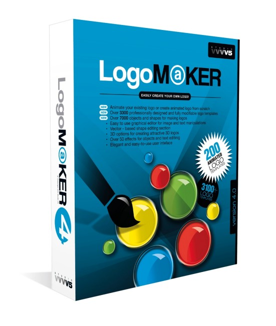 Studio V5 - 3D Address Book, Logo Maker, RedBox Organizer
