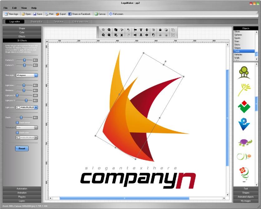 برنامج LogoMaker 3